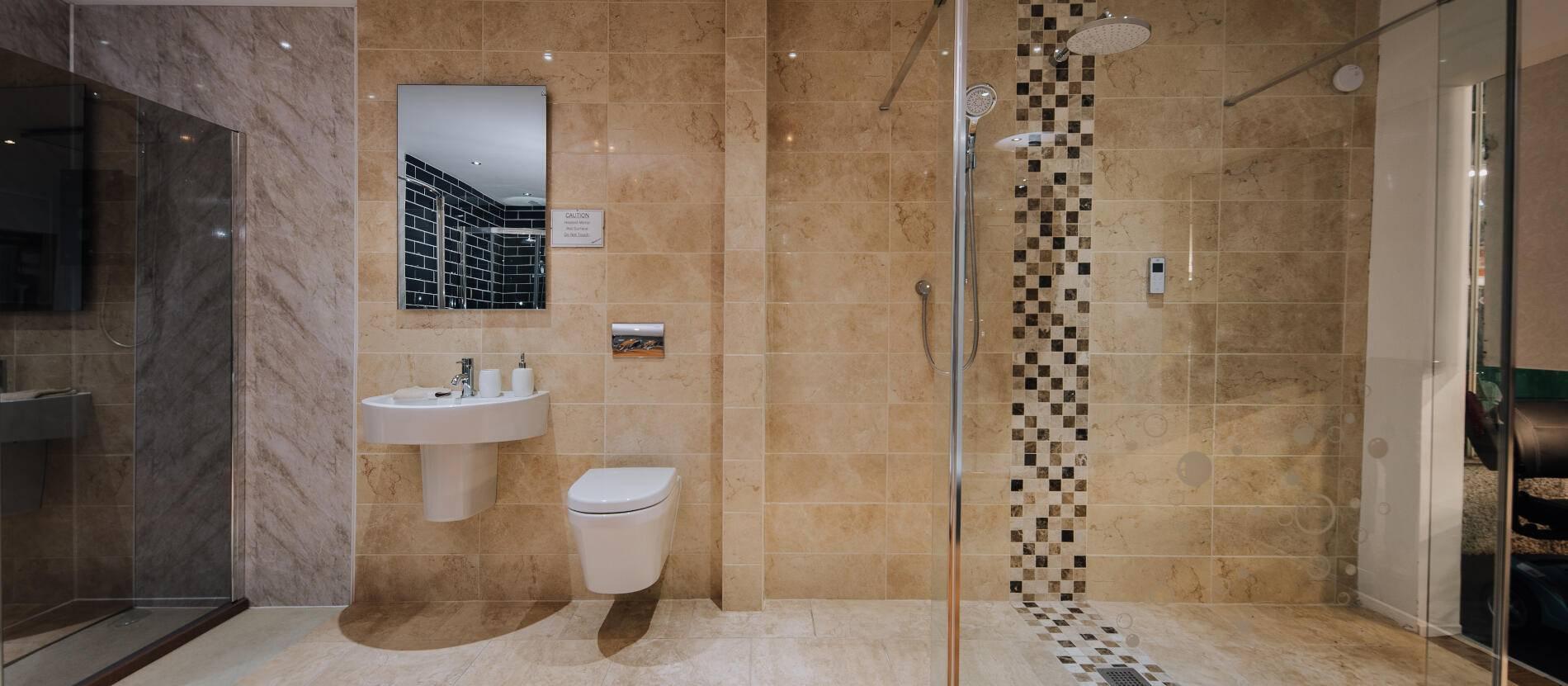 AHM wet room build