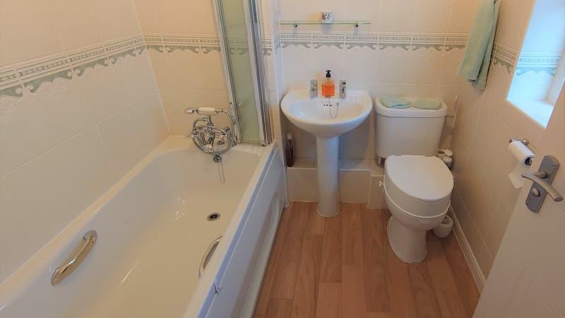 Bathroom before new build