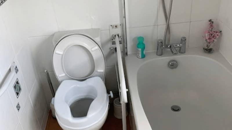 STIFF Bath & Toilet before 1