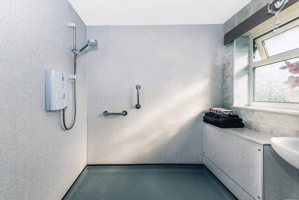Wet Room with waterproofing